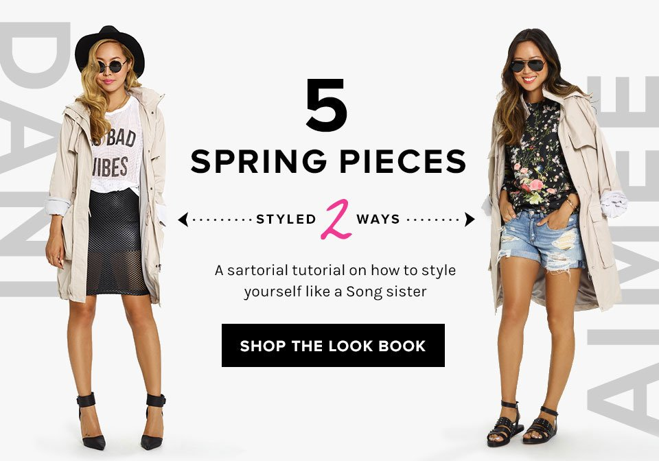 5 Spring Pieces, Styled 2 Ways