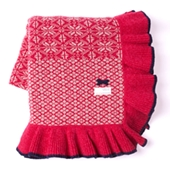Lovely Knit Blanket, 160x130 cm, Sienna