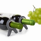Quirky Wine Set of 2, Wine stand, Grey