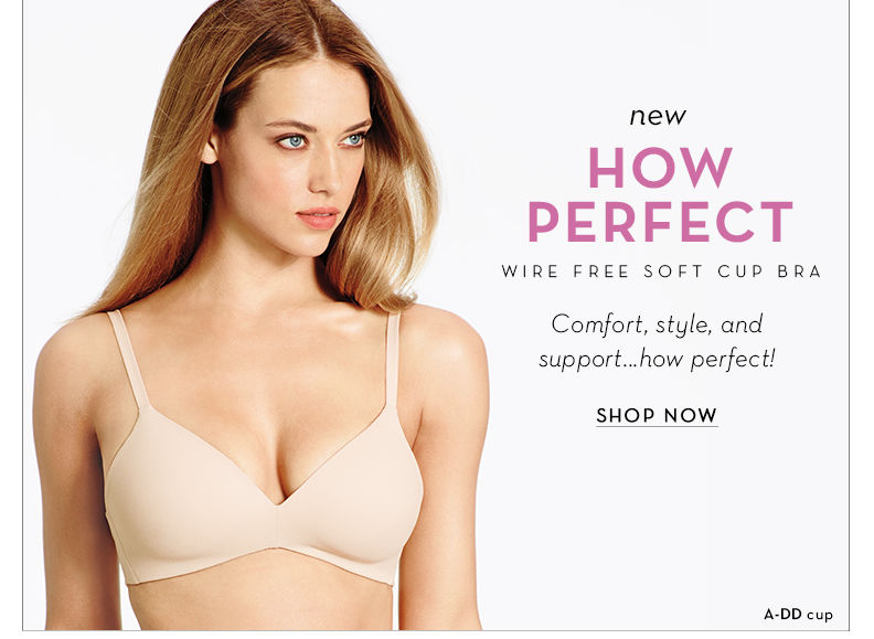 How Perfect WireFree Bra