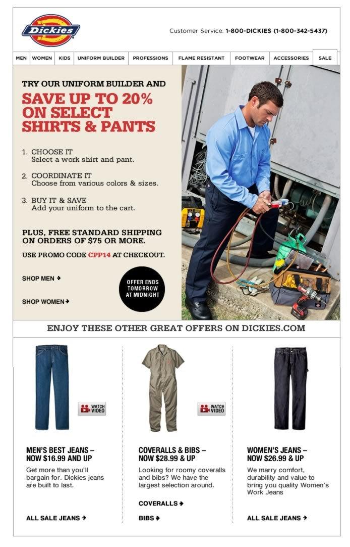 Shop Uniform Builder, Save Up to 20%