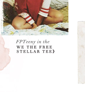 FPTeeny in the We the Free Stellar Tee