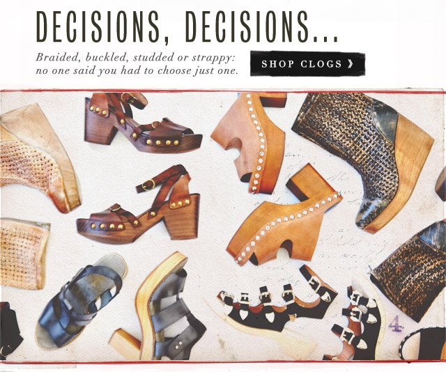 Shop Clogs
