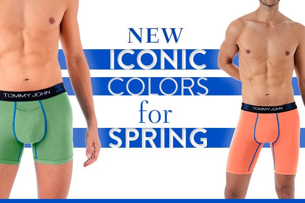 Iconic Colors for Spring