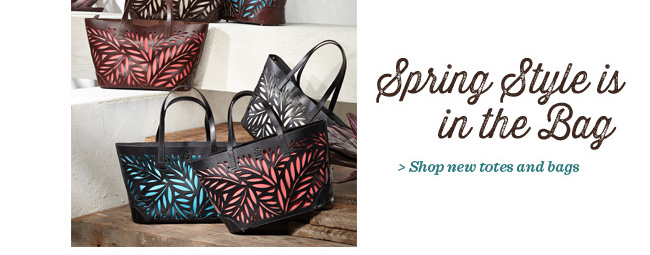 Shop new totes and bags