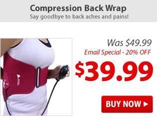 Compression Back Wrap