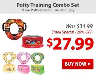 Potty Training Combo Set