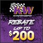 KW Receive Up to a $200 Rebate