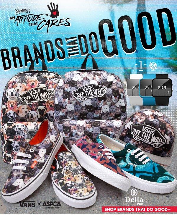 Shop Brands that Do Good