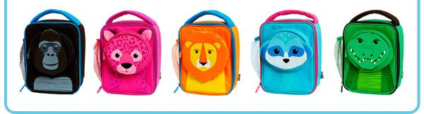 safari 3d lunchbox range
