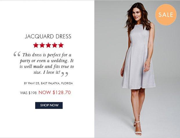 Download Images: Shop Jacquard Dress
