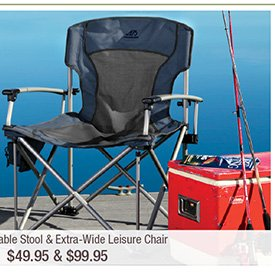 ALPS® Extra-Wide Leisure Chair