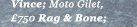 Moto Gilet - £750 - Rag & Bone
