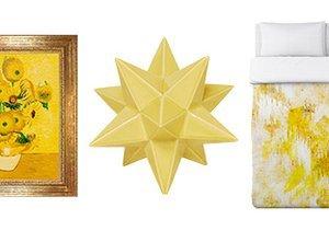 Gilded Sunshine: Yellow & Gold Décor