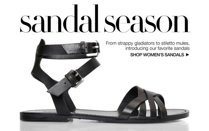 Shop Sandals - Ladies