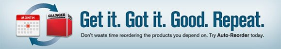 Get it. Got it. Good. Repeat. Don't waste time reordering the products you depend on. Try Auto-Reorder today.