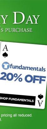 Fundamentals 20% Off - Shop Now