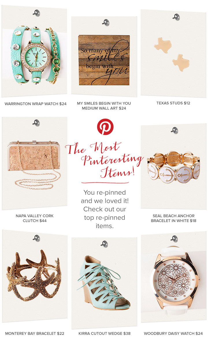The Most Pinteresting Items!