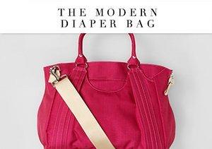 The Modern Diaper Bag