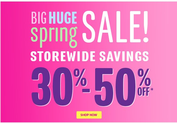 Big Huge Sale!
