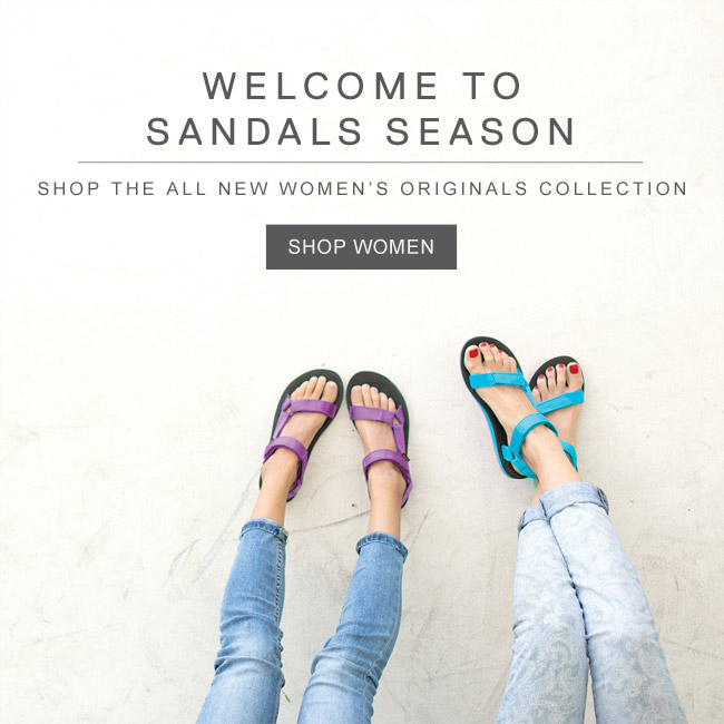 WELCOME TO SANDALS SEASON