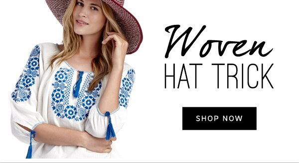 Woven Hat Trick