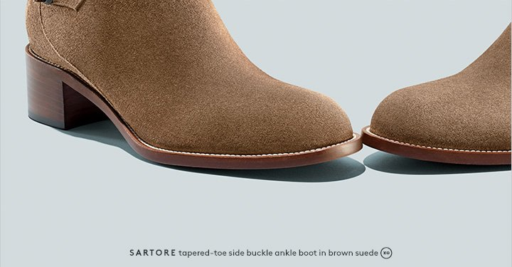 An in-between season essential: Shop ankle boots by Sartore and more.