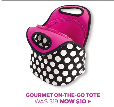 Gourmet-On-The-Go Tote >