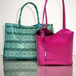 The Embossed Handbag