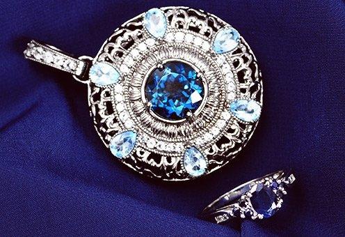Inspiration: Midnight Blue Gemstone Jewelry