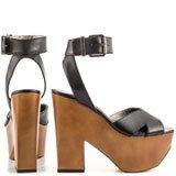 Camilla - Black Leather