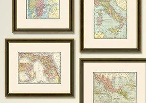 Archival: Vintage Maps