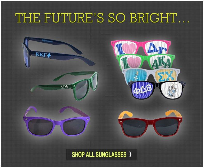 Sunglasses, Sunglasses, & More Sunglasses