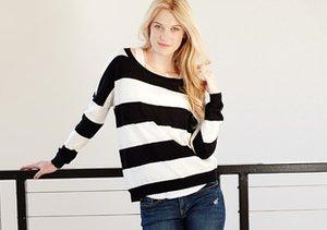 Black & White: Tops, Jeans & More