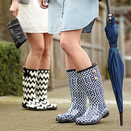 Fashion Prints: Bold Rain Boots