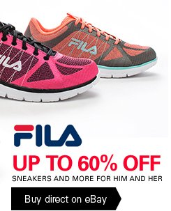 FILA UP TO 60% OFF - SNEAKERS AND MORE FOR HIM AND HER - Buy direct on eBay