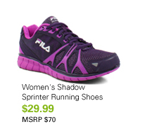 Women's Shado printer Running Shoes $29.99 MSRP $70