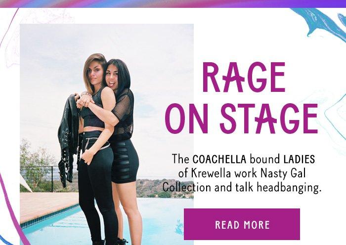 Rage On Stage