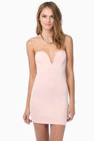 Valentine Bodycon Dress $40