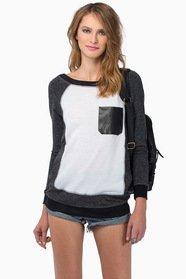 Patchwork Sweater $43