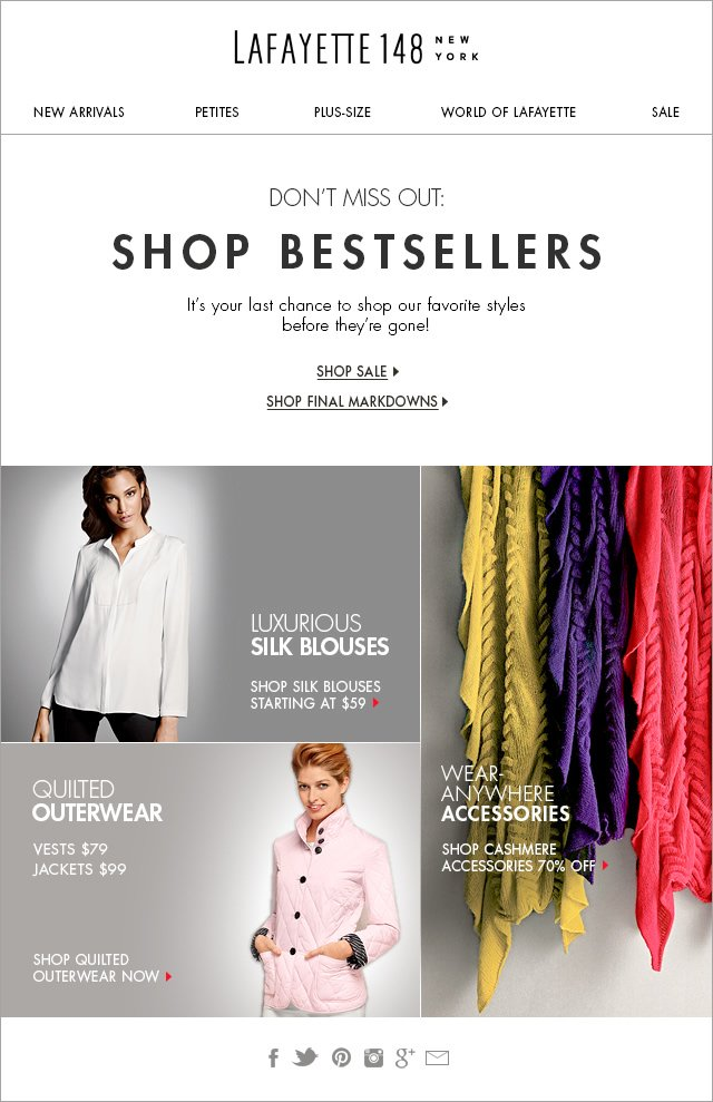 Don't Miss Out: New Markdowns on sale now!