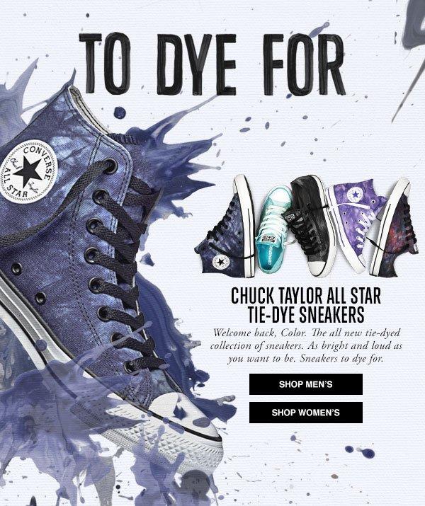 Chuck Taylor All Star Tie-Dye Sneakers
