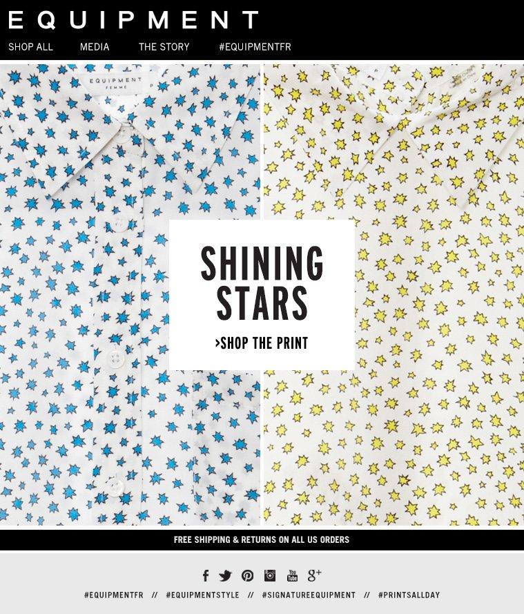 SHINING STARS >SHOP THE PRINT