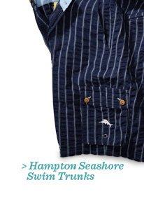 Hampton Seashore Swim Trunks