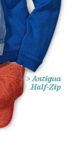 Antigua Half-Zip