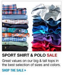 shop the sport shirts and polo sale