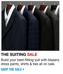 shop the suiting sale