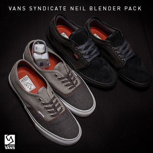 Vans Syndicate Neil Blender Pack
