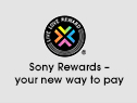 Sony Rewards — your new way to pay