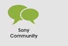 Sony Community